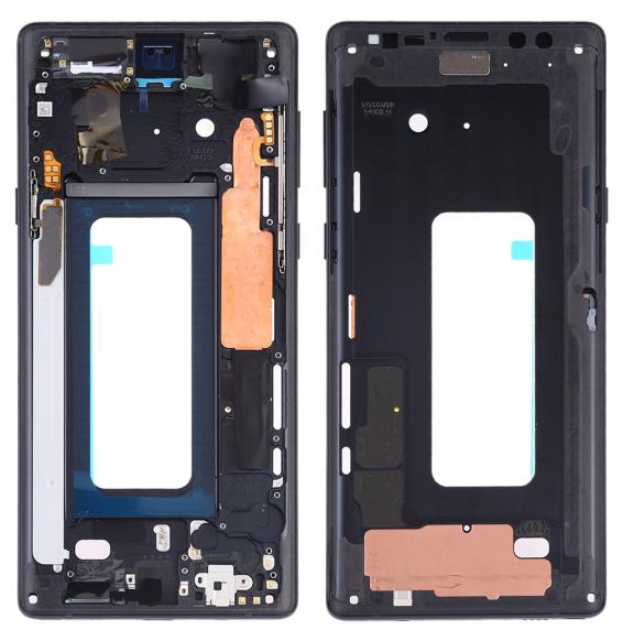 Middle Frame Bezel Plate with Side Keys for Samsung Galaxy Note 9 SM-N960F/DS, SM-N960U, SM-N9600/DS (Black)