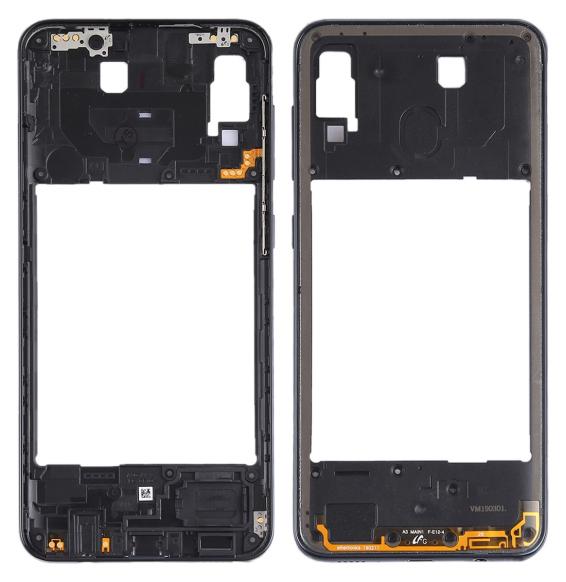Back Housing Frame for Samsung Galaxy A30 SM-A305 (Black)