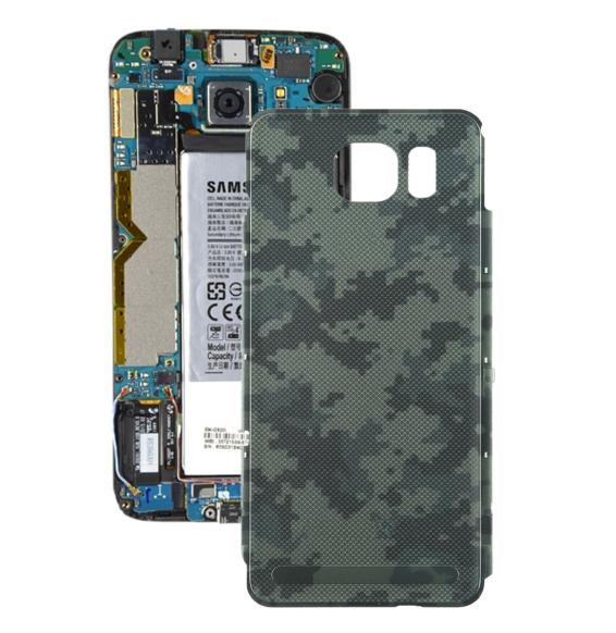 Cache arrière pour Samsung Galaxy S7 actif (Camouflage)(Avec Logo)