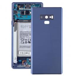 Cache arrière avec lentille pour Samsung Galaxy Note 9 (Bleu)(Avec Logo)