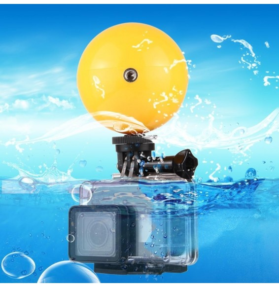 PULUZ Bobber Diving Floaty Ball with Safety Wrist Strap for GoPro HERO6 /5 /5 Session /4 Session /4 /3+ /3 /2 /1, Xiaoyi and Other Action Cameras