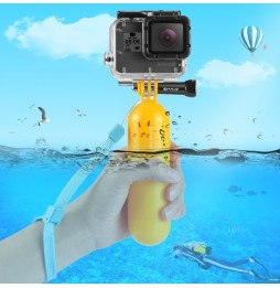 PULUZ Floating Handle Bobber Hand Grip with Strap for GoPro HERO9 Black / HERO8 Black /HERO7 /6 /5, DJI Osmo Action, Xiaoyi and Other Action Cameras