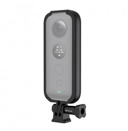 PULUZ ABS Protective Frame for Insta360 ONE X, with Adapter Mount & Screw(Black)