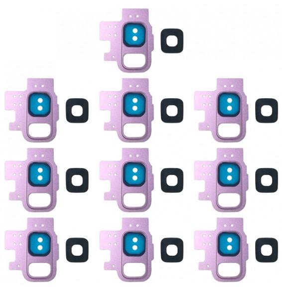 10pcs vitre caméra pour Galaxy S9 / G9600 (violet)