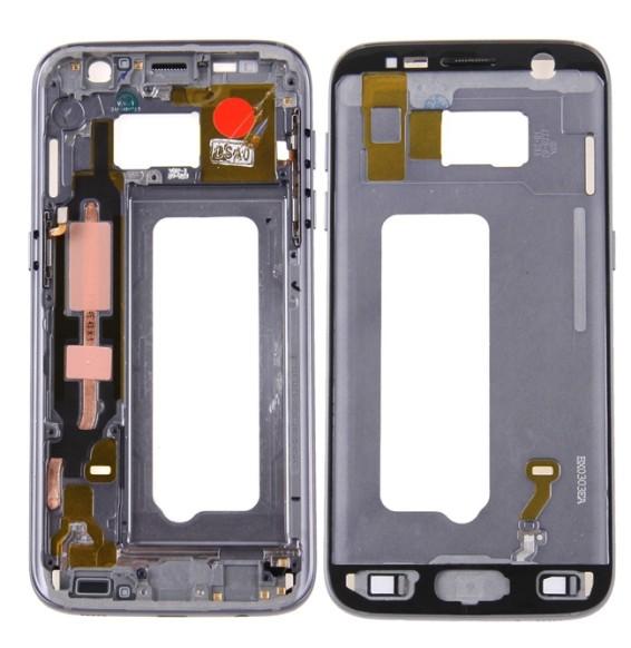 Châssis LCD pour Samsung Galaxy S7 SM-G930 (Gris)