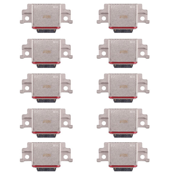 10pcs Charging Port Connector for Galaxy A8 (2018), A530F, A530F/DS