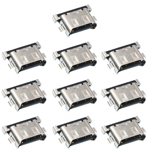 10pcs Port de charge pour Galaxy A40 A405F