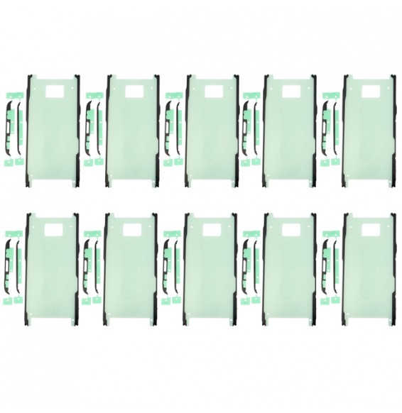10pcs Adhésif LCD + cache arrière pour Samsung Galaxy S8 SM-G950