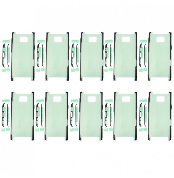 10pcs pour Galaxy S8 adhésif chassis avant + milieu