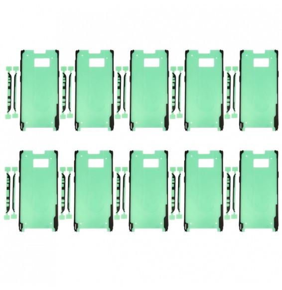 10pcs Adhésif LCD + cache arrière pour Samsung Galaxy S8+ SM-G955