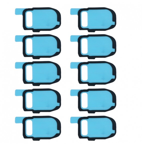 10pcs for Galaxy S7 / G930 & S7 Edge / G935 Camera Lens Cover Adhesive