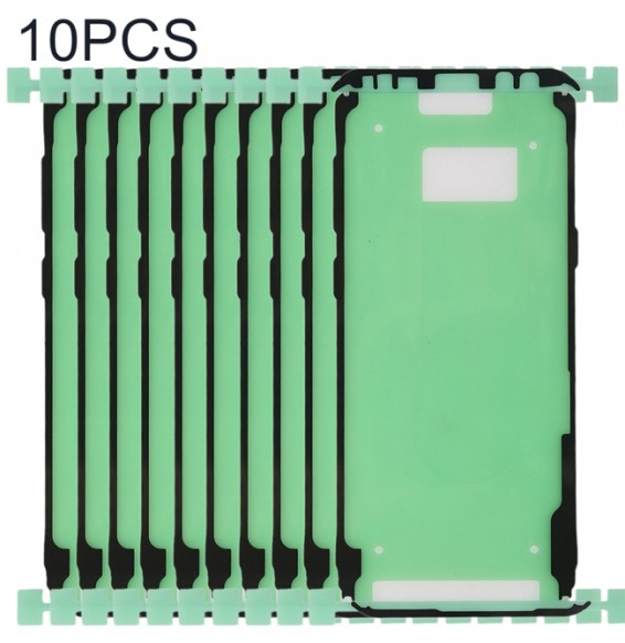 10pcs Front Housing Adhesive for Galaxy S9+