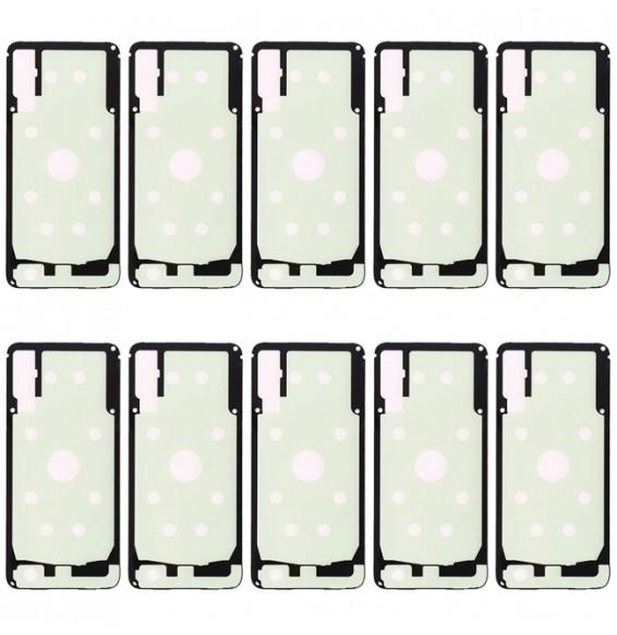 10pcs adhésif cache arrière pour Samsung Galaxy A50 SM-A505