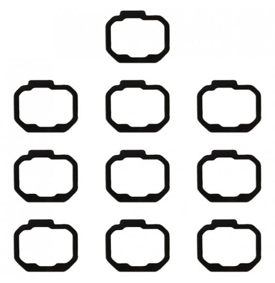 10Stk Fingerabdruckaufkleber für Galaxy Note 8