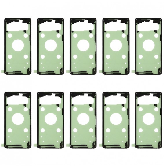 10pcs Back Housing Cover Adhesive for Galaxy S10