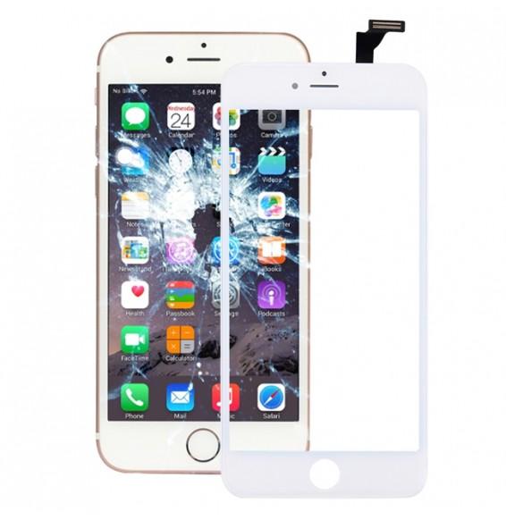Écran tactile tactile avec adhésif OCA (transparent) pour iPhone 6 Plus (Blanc)