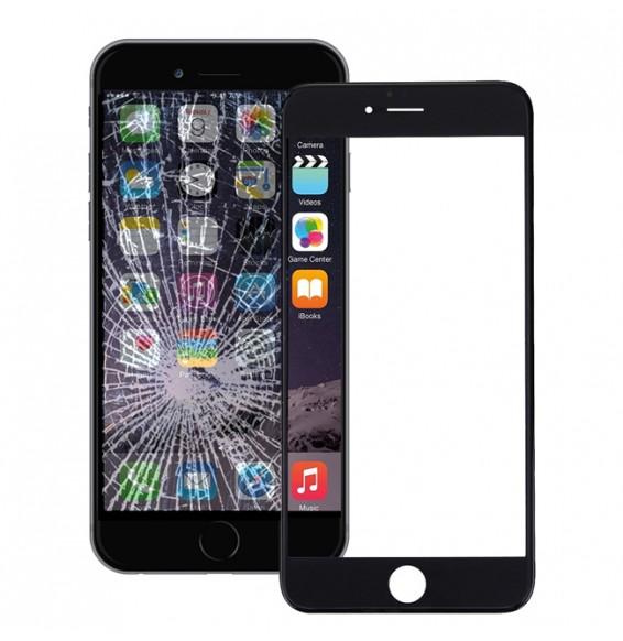 Écran tactile tactile avec adhésif OCA (transparent) pour iPhone 6 Plus (Noir)